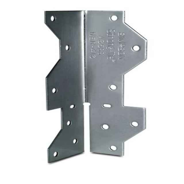 Simpson a ss quot stainless steel framing anchor
