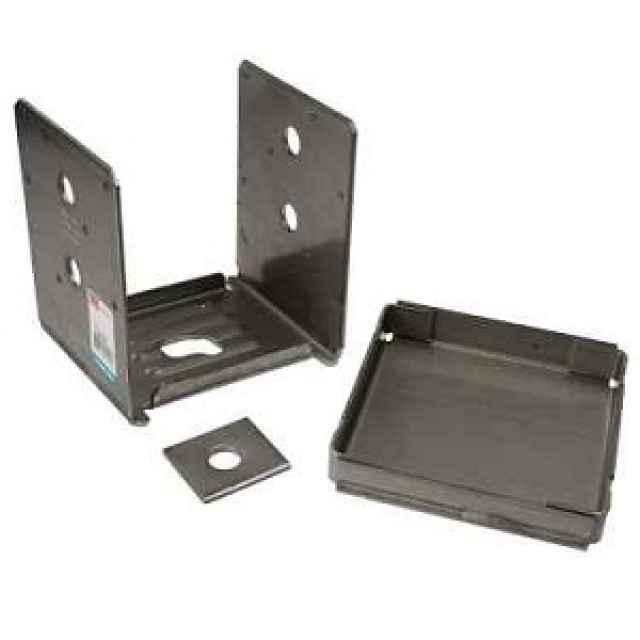 Simpson abu ss stainless steel adjustable post base