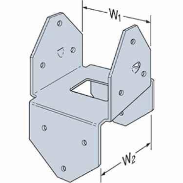 Simpson Bcs2 2 4ss 2 2x4 Post Cap Stainless Steel