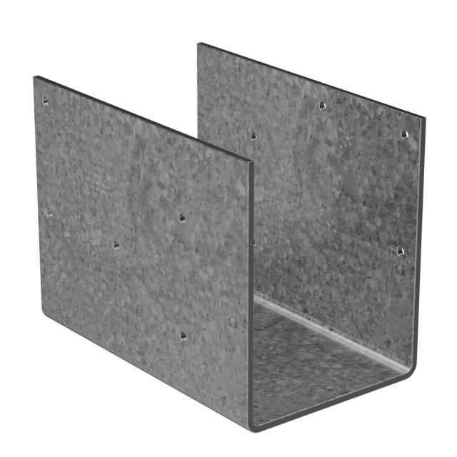 Simpson ccos steel column cap g galvanized