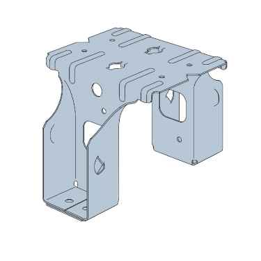 Simpson Pfds24b 2x4 Post Frame Double Saddle Hanger G90